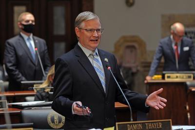 File-Kentucky State Sen. Damon Thayer, R-Georgetown