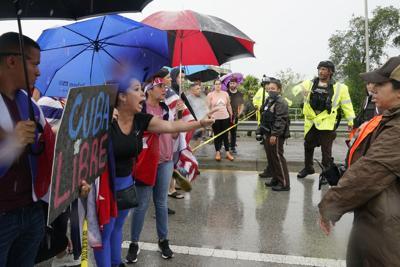 FILE - Cuba Protest Miami