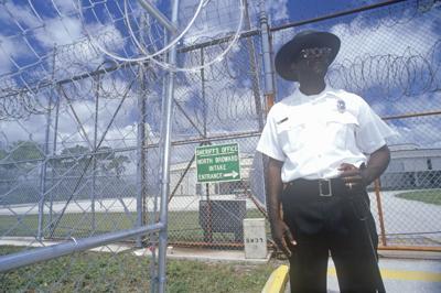 FILE - Florida prison