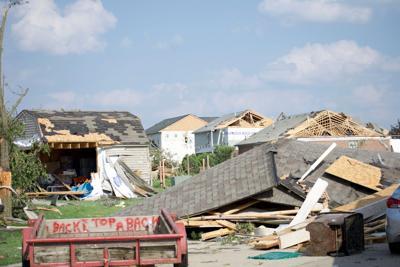 FILE - Ohio storm damage 5-27-2019