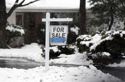 FILE - Illinois, home for sale, home sales, property, for sale, winter