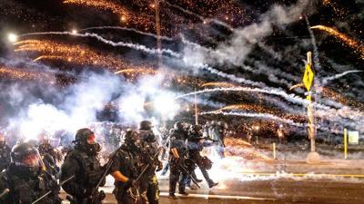 FILE —Portland police tear gas