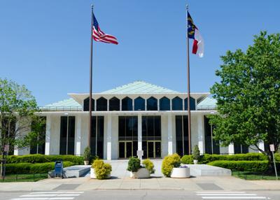 FILE - North Carolina State Legislative Office Building