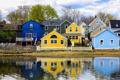 FILE - Home in Portsmouth, New Hampshire