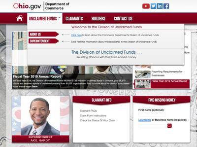 Ohio Division of Unclaimed Funds