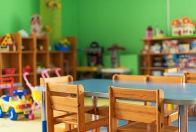 FILE - Kindergarten classroom