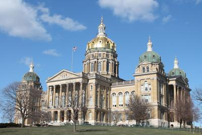 FILE - Iowa State Capitol