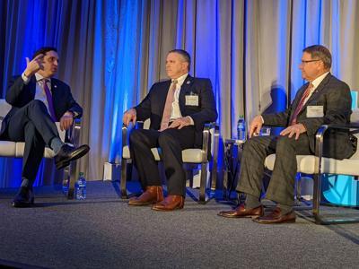 Stephen Waguespack, Clay Schexnayder, Page Cortez