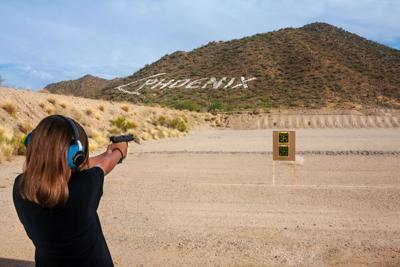 FILE - Arizona gun range