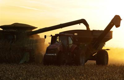 FILE - Illinois harvest