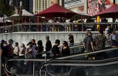 FILE - Virus Outbreak Vegas Revival