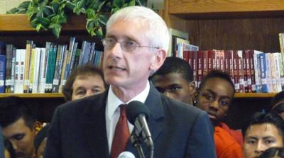 FILE - Wisconsin Gov Tony Evers