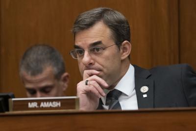 FILE - U.S. Rep. Justin Amash of Michigan