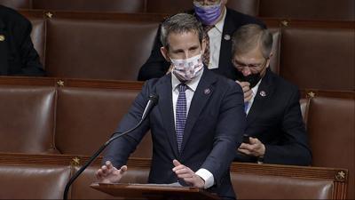 FILE - Rep. Adam Kinzinger, Congress Electoral College