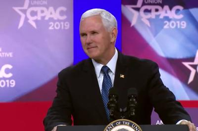 FILE - VP Mike Pence