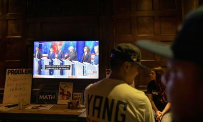 FILE - Election 2020 Debate Watch Party