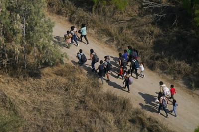 FILE - Migrant Border Crisis