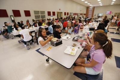 FILE - School Lunch cafeteria