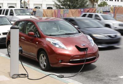 FILE - electric cars, Florida, Electric Rental Cars Orlando