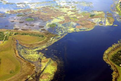 FILE - Lake Okeechobee