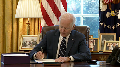 FILE - US President Joe Biden 3-11-2021