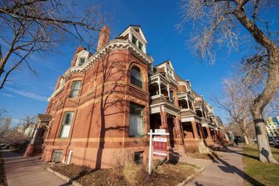 FILE - Denver Real Estate Home For Sale