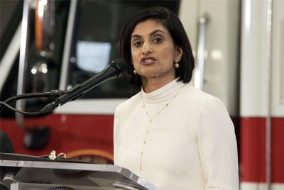 FILE - Centers for Medicare & Medicaid Services (CMS) Administrator Seema Verma