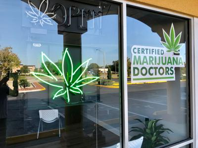 FILE - Medical marijuana Florida