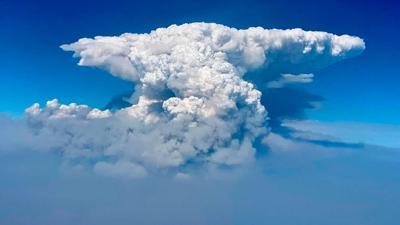 FILE — Bootleg fire cloud