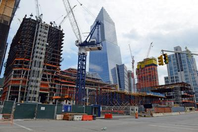 FILE - NY real estate, construction Aug. 2016