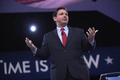 FILE - FL Gov. Ron DeSantis