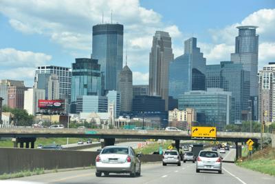 FILE - Downtown Minneapolis
