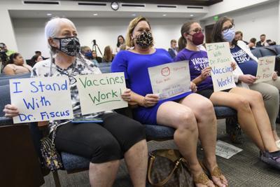 Tennessee Health Department Firing