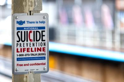 FILE - suicide prevention