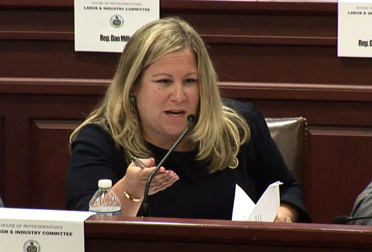 Kate Klunk Pennsylvania Labor & Industry Committee 9-5-2018