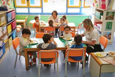 FILE - Child care day care