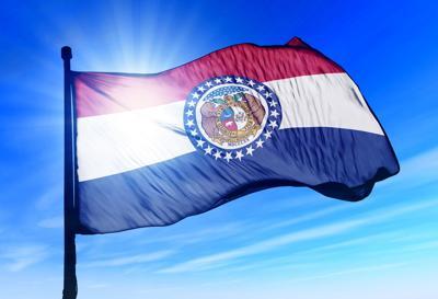 FILE - Missouri state flag