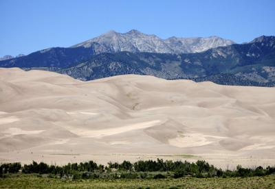 FILE - Great Sand Dunes National Park
