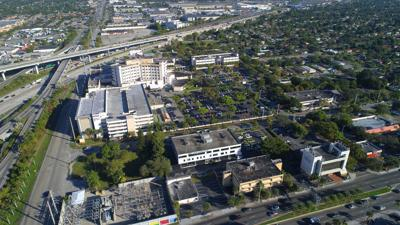 FILE - Jackson Memorial Hospital Miami Florida