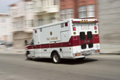 FILE - Medicaid ambulance emergency