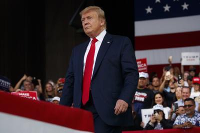 FILE - President Donald Trump