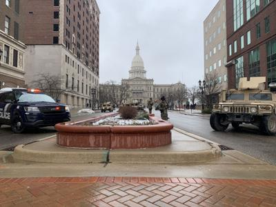 Lansing Capitol National Guard
