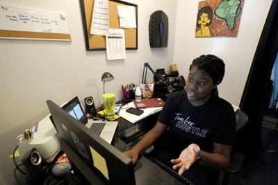FILE - remote learning, Illinois, Virus Outbreak Virtual School Rules