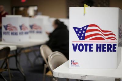 FILE - voting, primary, ballot, Missouri, 2020