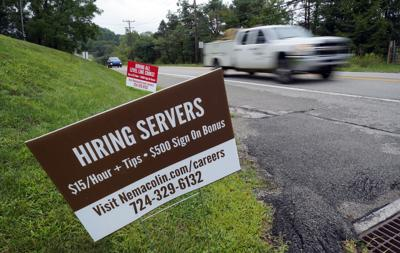 PA Help wanted sign
