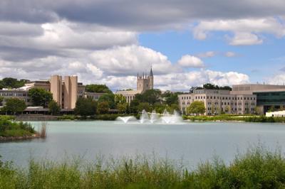 FILE - Northwestern University campus, Illinois