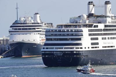 Virus Outbreak Cruise Ships
