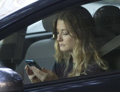 FILE - Distracted Driving, California, 2016
