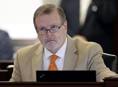 FILE - North Carolina state Sen. Phil Berger