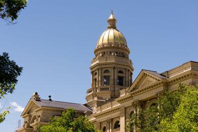 FILE - Wyoming Capitol